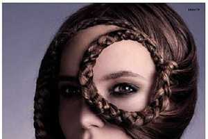 Intricate Braiding & Sculptured Hair Editorial for Vision Magazine