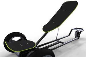 The Stepboard Skateboard by Nicolas Chacana is Next Generation Shredding