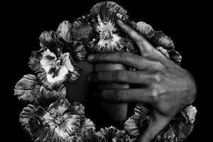 Gonzalo Bernard Makes Eerie Black & White Self Images