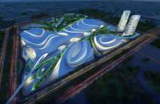 Flowing River Architecture - Cairo Expo City by Zaha Hadid Was Inspired by Egypt's Nile