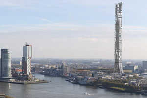 Rodderham City Tower by Monolab is a Green Status Statement