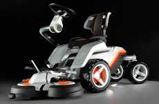 Eco-Friendly, Futuristic Husqvarna Panthera Leo for Affluent Gardeners
