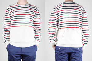 Wood Wood's 'Coppi Stripe Crew' Shirt Puts a Spin on a Clas