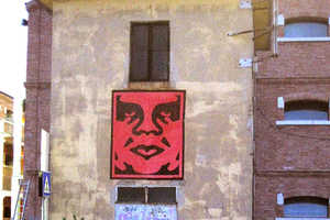 Shepard Fairey Helps Creatively 'Restore Venice' Architecture