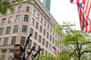 Rob Calder, the Bagpipe Busker, Brings Awareness to Scottish Americans