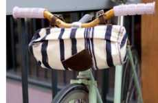 New-Age Bike Baskets - Alexandra Cassaniti's Bicycle Bags Are Fashionably Handy