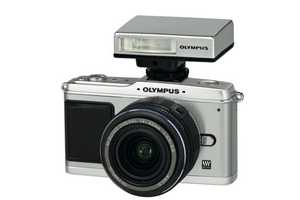 Olympus E-P1 Pen is a Hybrid SLR and Point-and-Shoot