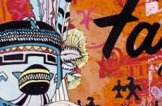 Graphic Novel Artography - FAILE Releases Collection of Comic Book Creations