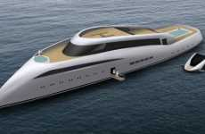 Recyclable Yachts - The 'Solar Gem' Sinks Other Ritzy Vessels With Green Luxury
