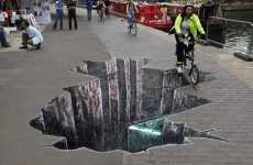 British Waterways Commissions Street Art to Slow Reckless Bikers