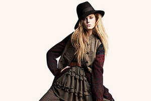 H&M's Fall 2009 Lookbook Says Fitted is Out & Roomy is In