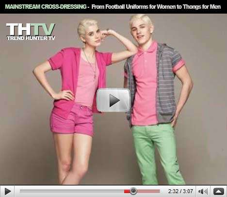 Mainstream Cross-Dressing - Bodysuits, Football Uniforms for Women and Thongs for Men