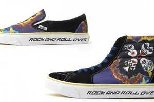 Vans Releases KISS Pack Sneakers for Rockstars