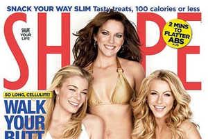 Martina McBride, Julianne Hough & LeAnn Rimes Rock July Issue of Shape
