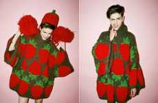 Strawberry Sweaters - Yung Du Creates Fun Fruit-Printed Fashions