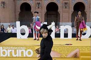 Sacha Baron Cohen Surprises Again at the Spain 'Bruno' Premiere