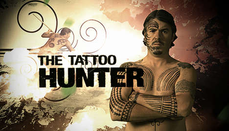 Tattoo Culture TV Shows - Lars Krutak Travels the World for Discovery's 'The Tattoo Hunter'
