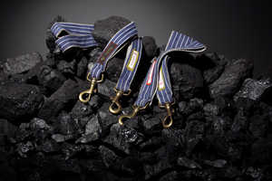 Zechekind Creates Accessories From Recycled Uniforms