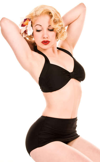 Slimming Pin-Up Swimwear