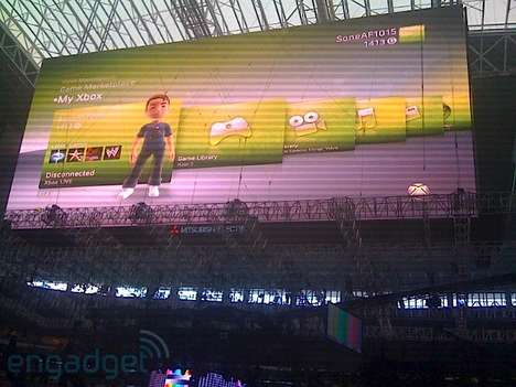 Colossal Video Game Screens