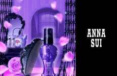 Gothic Designer Combs - Anna Sui Japan Adds New Hair Care Line