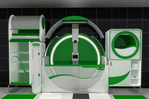 The Hi-Tech Global Bathroom is an All-In-One Restroom