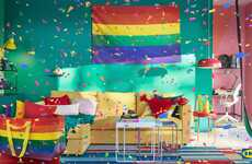 Pride-Themed Everyday Housewares - The IKEA Pride Collection Sports the Classic Rainbow Colors