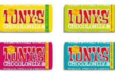 Conflict-Free Chocolate Bars - The Tony's Chocolonely Sweet Solutions Collection is High-Quality