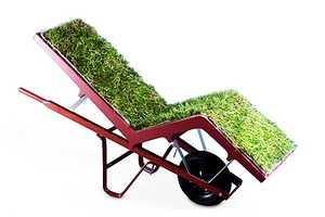 Deger Cengiz Takes an Urbanized Look at Grass Upholstered Furniture