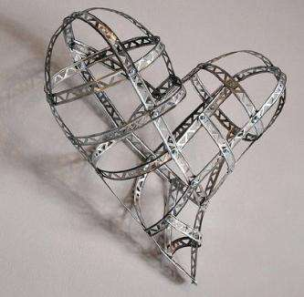 Recycled Wire Art