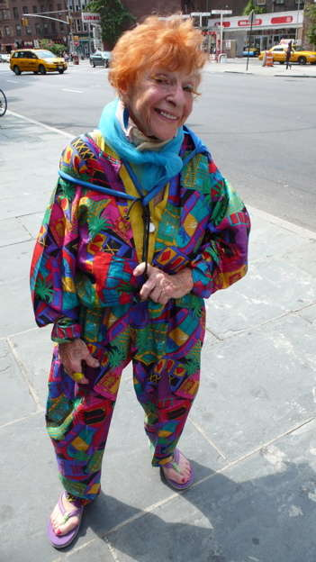 Eccentric Elderly Fashion - Advanced Style Blog Proves Fashion Sense Doesn't Expire