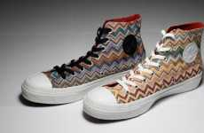 Zigzag High-Tops - Missoni Partners with Converse for Edgy 2010 Kicks