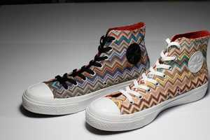 Missoni Partners with Converse for Edgy 2010 Kicks