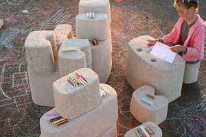 Tamago Kid Furniture is Made of Recycled Egg Cartons