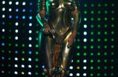 10 Galactic Fashions - From Beyonce's Futuristic Stage Armor to Cyberpunk Bodysuits