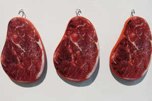 'Sitting Flesh' Meat Cushions Make a Cozy Place to Eat a Steak
