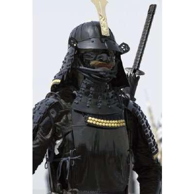 Dangerous Rain Weapons - Samurai Umbrellas Defend Against Rain