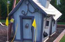 Crooked Playhouses - Whimsical Play Homes You Can Customize With Paint & Porches