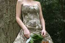 Army Camo Bridal Gowns