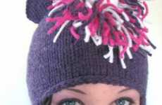 Horny Hats - The Magic Unicorn Beanie Exudes Fashionable Fantasy