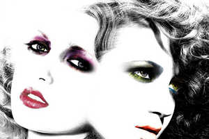 Chayo Mata's Beauty Shots Linger on Colorful Makeup