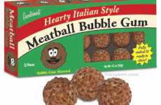 Meatball Gum for Carnivores & Vegetarians Alike