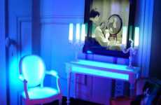 Emotional Furniture - LED Objects Change Colour For their Environments