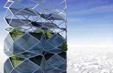 High-Rise Parks - Vertical City in Mexico City Designed to Help Reduce Smog