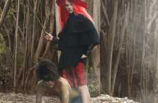 Twisted Fairy Tales - 'Little Bad Riding Hood' Shows the Wolf Who's Boss