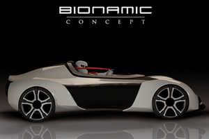The Bionamic by Guney Kol is a One-Seater Electrical Speeder