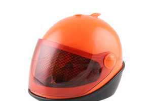 Motorcycle Helmet USB Humidifier Lets Off Some Steam
