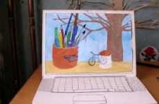 Stop-Motion Laptops - Papergirl Puts the Awe in Awesome Hand-Crafted Videos