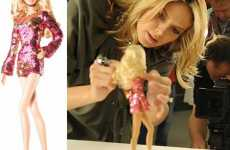 Supermodel Dolls - Heidi Klum Barbie Sports a Hot Pink Sparkly Disco Dress
