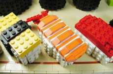 15 Inedible Sushi Creations - From LEGO Nigiri to Fishy Sofas & Cushions